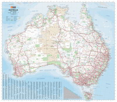 Where You Can Buy Wall Sized Maps of Australia