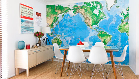 map of the world wall paper